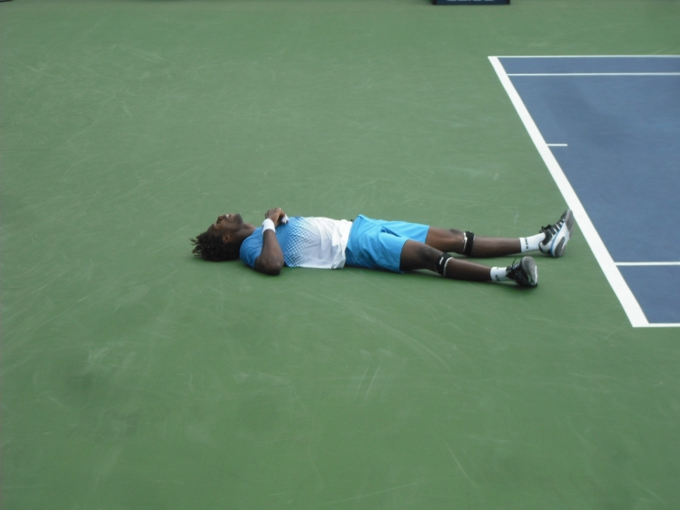 Rumors of Monfils death are greatly exaggerated