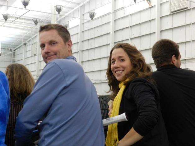Irina Falconi and Jeff Wilson, Atlanta 2011