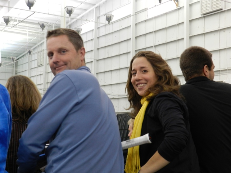 Irina Falconi and Jeff Wilson, Atlanta 2011