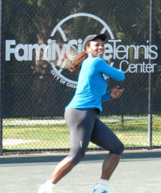 Serena Williams Family Circle Cup Charleston 2012
