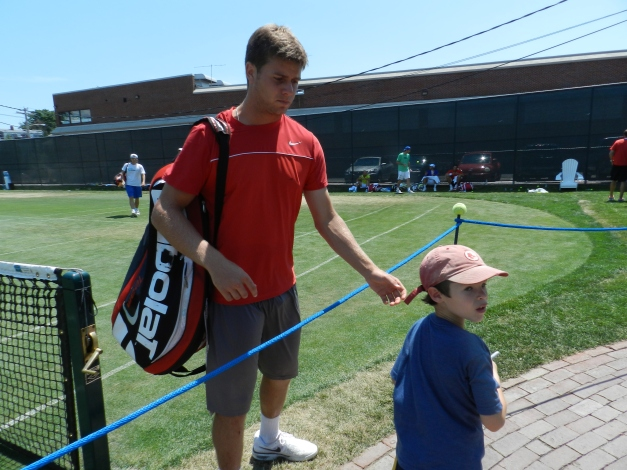 Ryan Harrison, 2012 ATP Newport