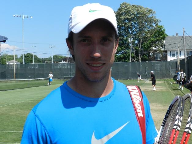 Igor Sijsling, 2012 ATP Newport Copyright TennisEastCoast.com
