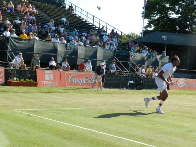Rajeev ram, ATP Newport 2012 d. Kei Nishikori