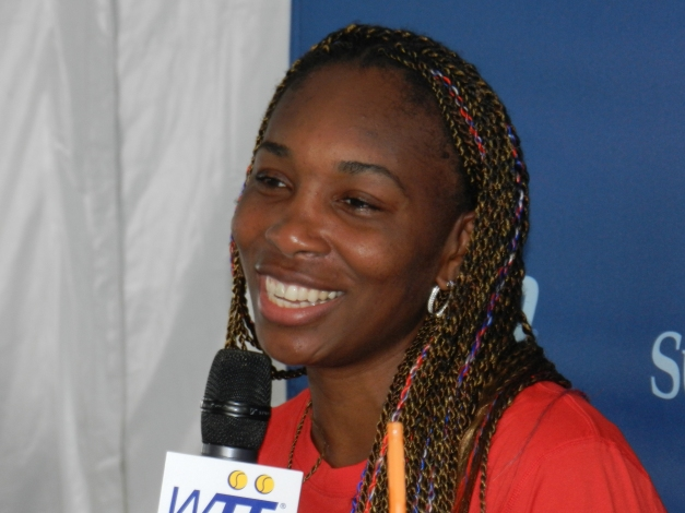 Venus Williams, Washington Kastles, July 2012 Copyright TennisEastCoast.com