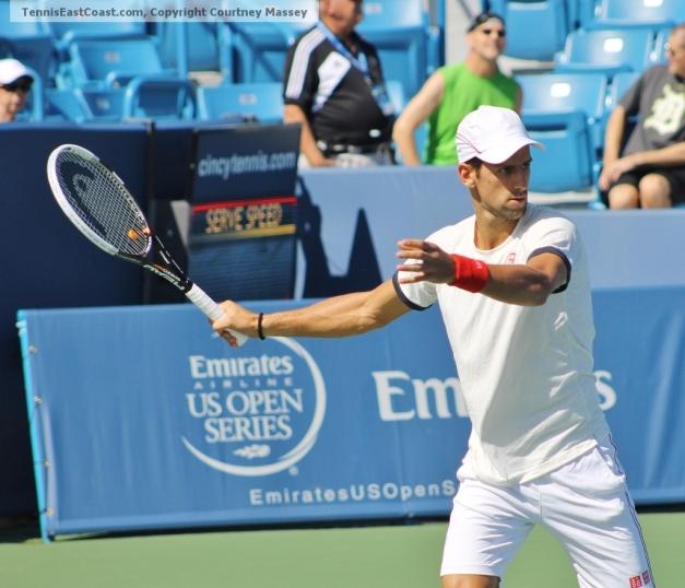 Novak Djokovic, 2012 ATP Cincinnati