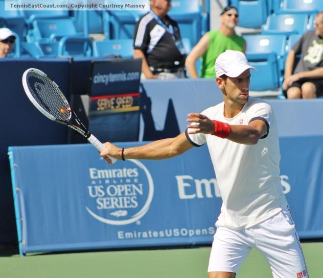 Djokovic (Photo: Courtney Massey)