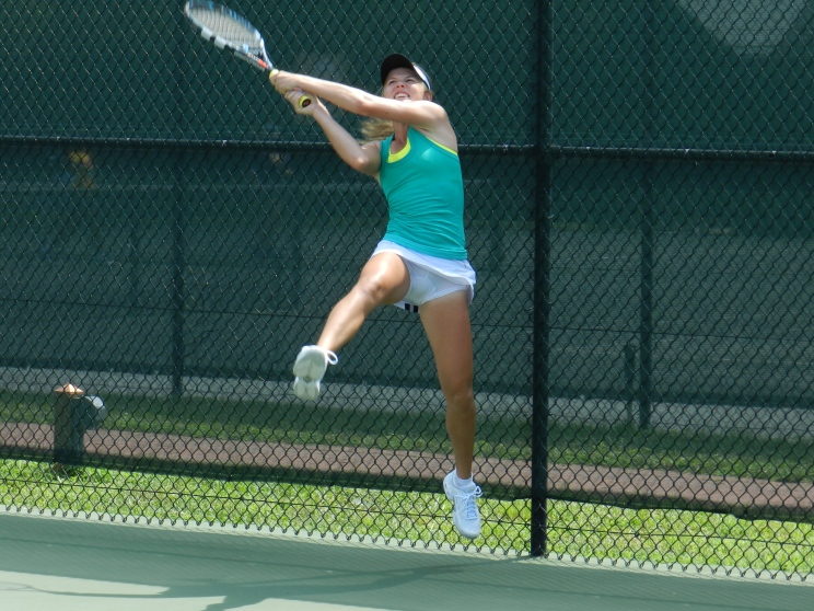 Marika Akkerman, 2012 ITF Prince George's County, Maryland