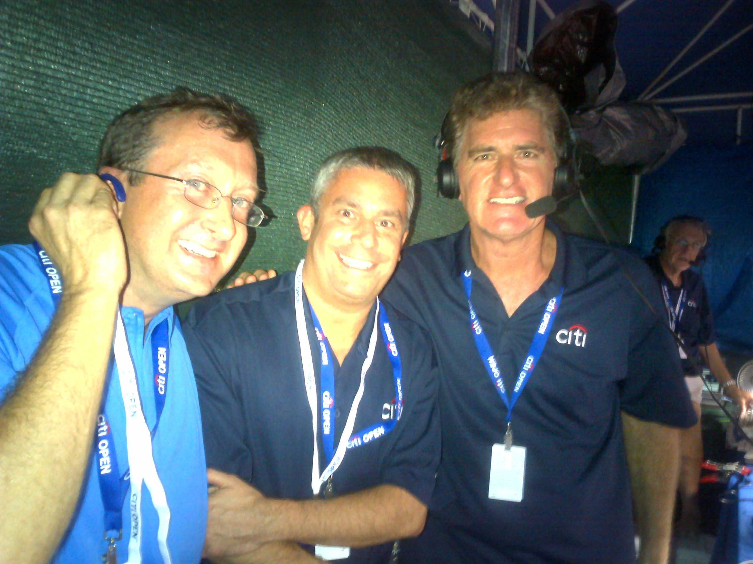 CitiOpen Radio, Doug Adler, Marc Sterne, Washington 2012