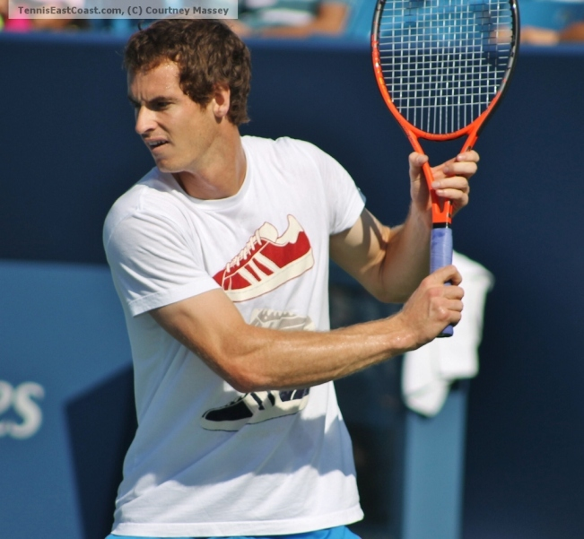 Andy Murray, 2012 ATP Cincinnati, Courtesy Courtney Massey