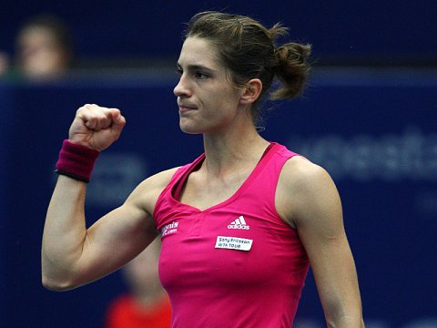 Andrea Petkovic, Ladies Linz Open 2010, Courtesy Kicker.de