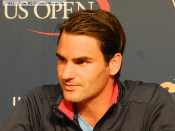 Roger Federer, 2012 US Open