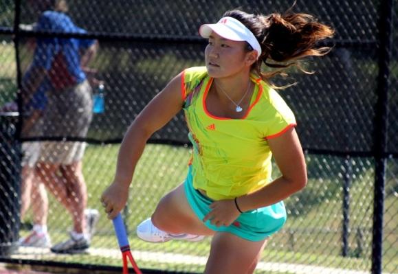 Grace Min, Troy 2012 (Photo: Rick Limpert)
