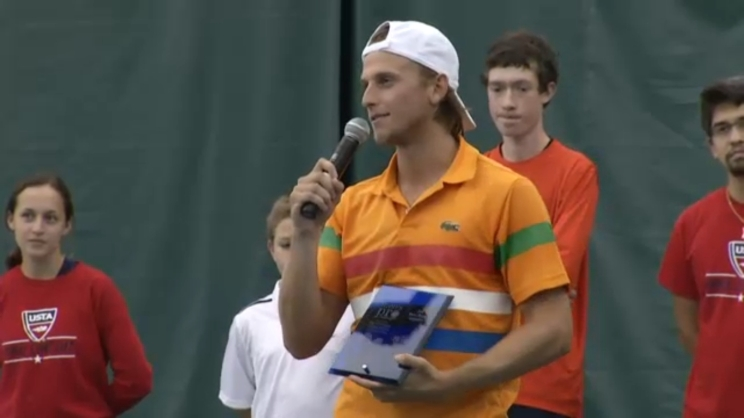 Kudla after win in Charlottesville