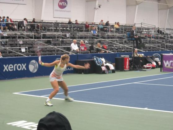 Sabine's Mean Forehand