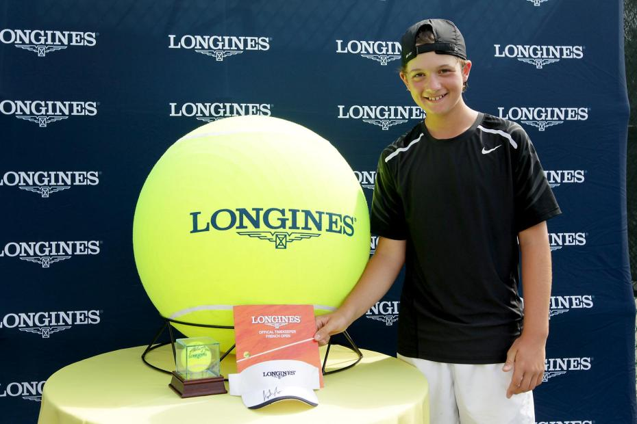 Longines Future Tennis Aces US Qualifier Adam Neff is One to Watch