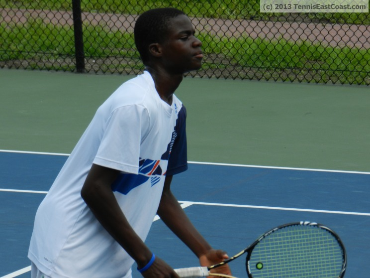 Frank Tiafoe of the JTCC