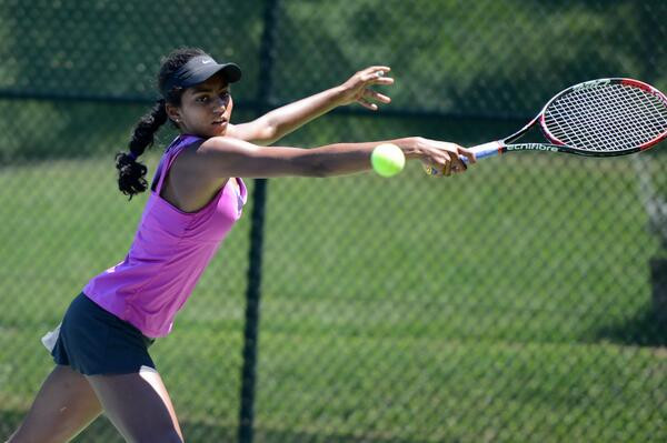 Raveena Kingsley (Photo: @tennis_shots Christopher Levy)