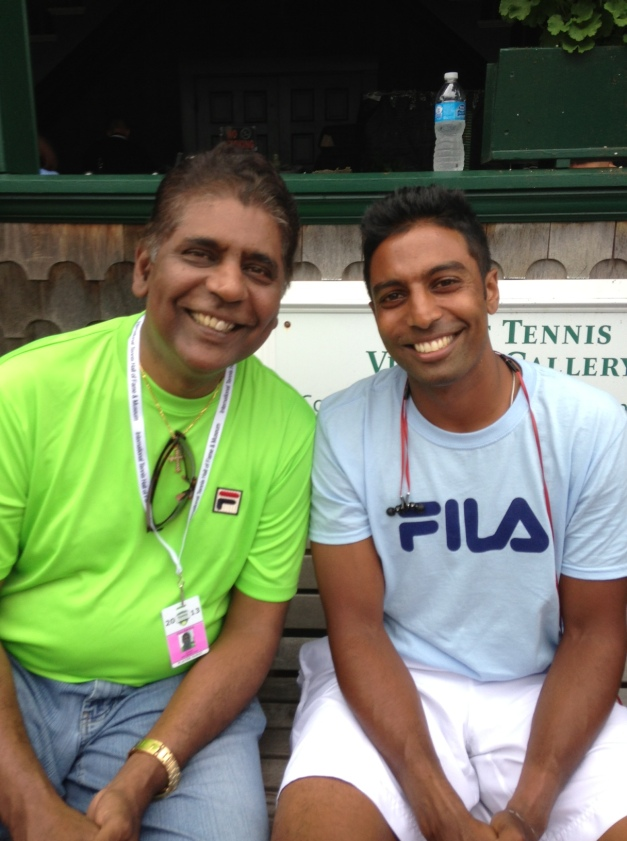 Prakash and Vijay Amritraj