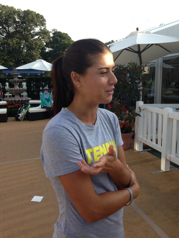 Sorana Cirstea, 2013 Citi Open