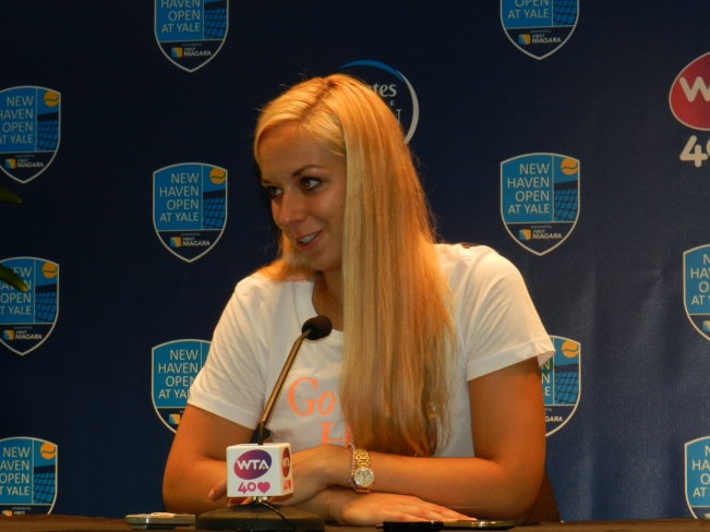 Sabine Lisicki, 2013 New Haven