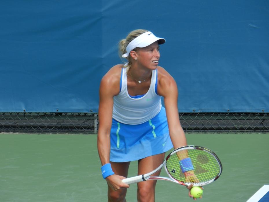 US Open Doubles Champ Andrea Hlavackova Headlines @PartyRockOpen