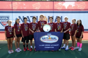 North Carolina, California Winners @USTA 14U Junior Team Tennis at National Championships