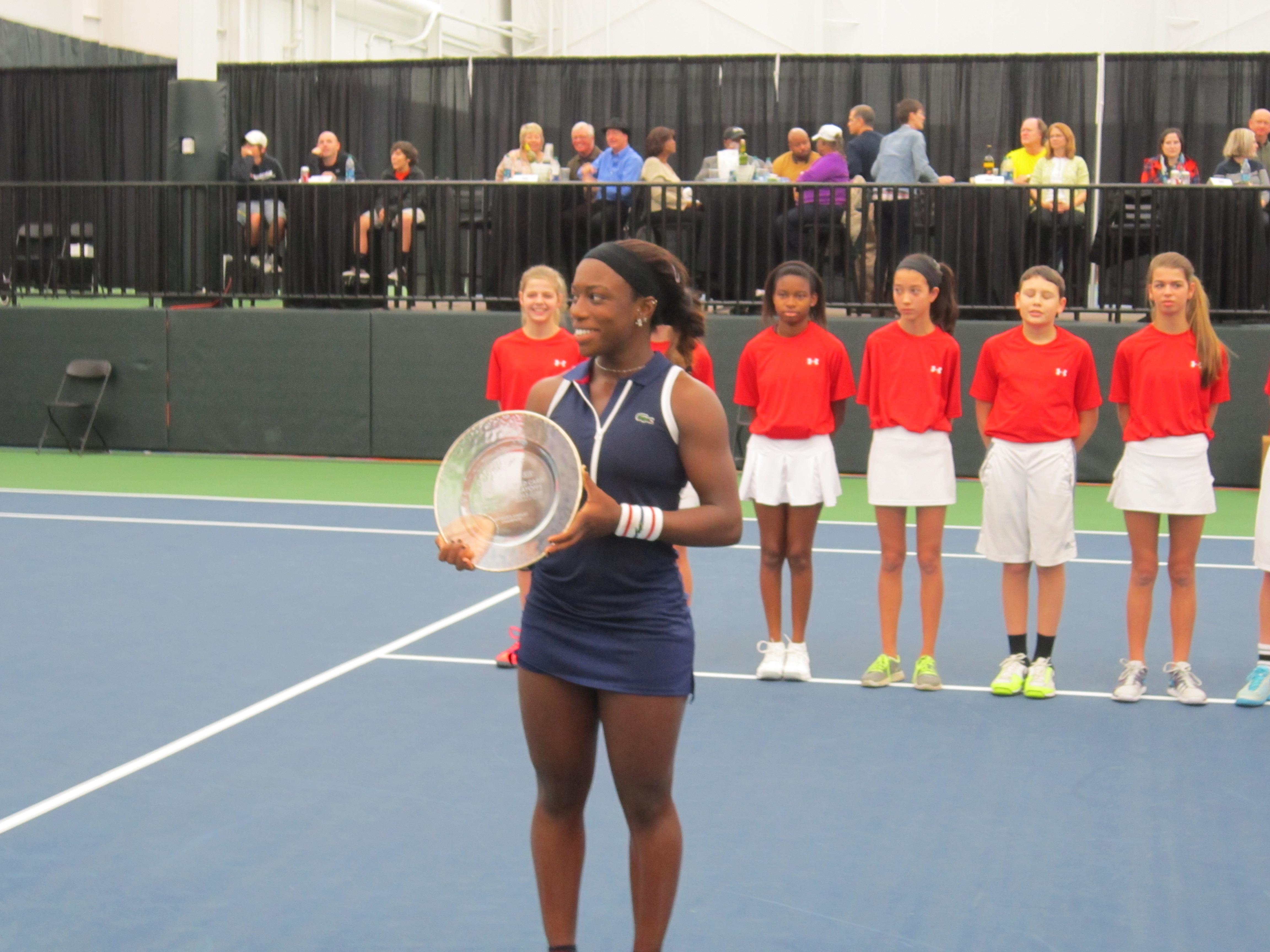 Sachia Vickery Tennis Atlantic