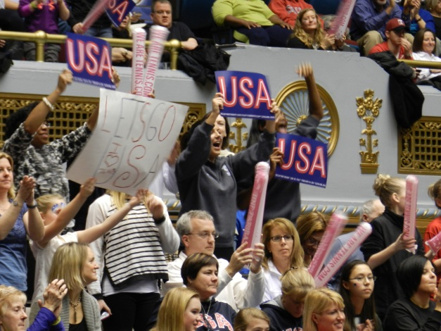 US Fed Cup American Fans