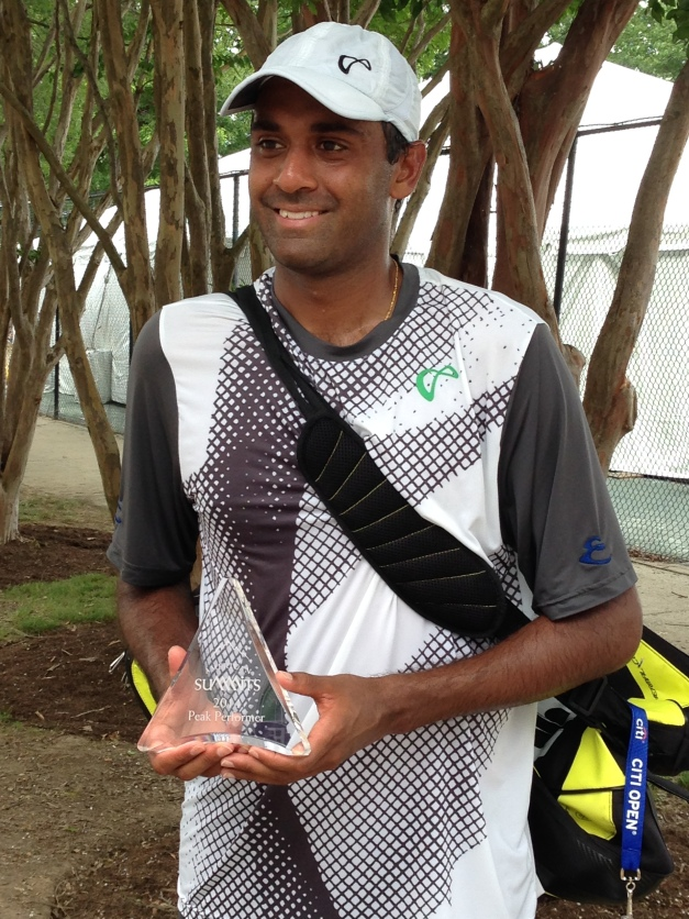 Qualfies: Rajeev Ram