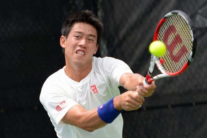 Kei Nishikori (Photo: @Tennis_Shots for TennisEastCoast.com)