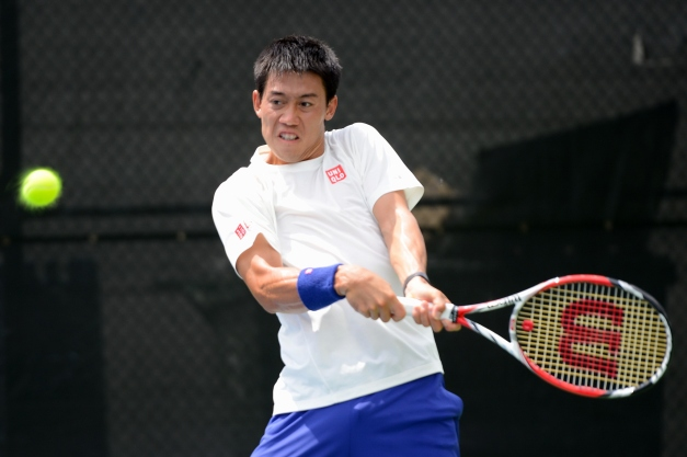 Kei Nishikori (Photo: @Tennis_Shots for TennisEastCoast.com)