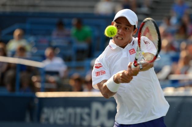 Kei Nishikori (Photo: Chris Levy @Tennis_Shots for TennisEastCoast.com)