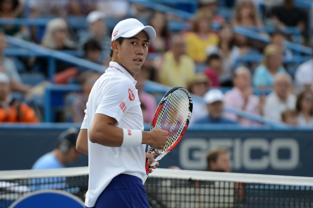 Kei Nishikori (Photo: Chris Levy @Tennis_Shots for TennisEastCoast.com)