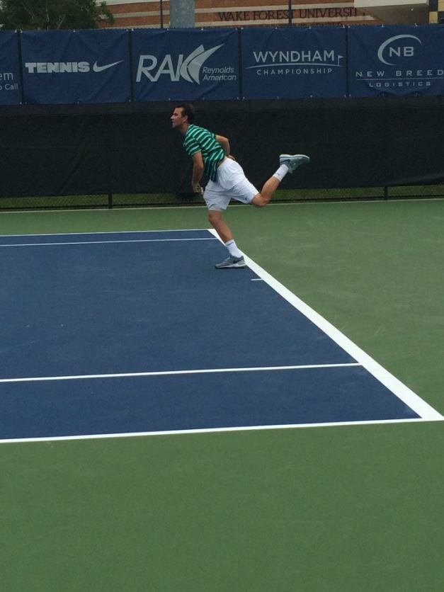 Mannarino took flight against Dzumhur