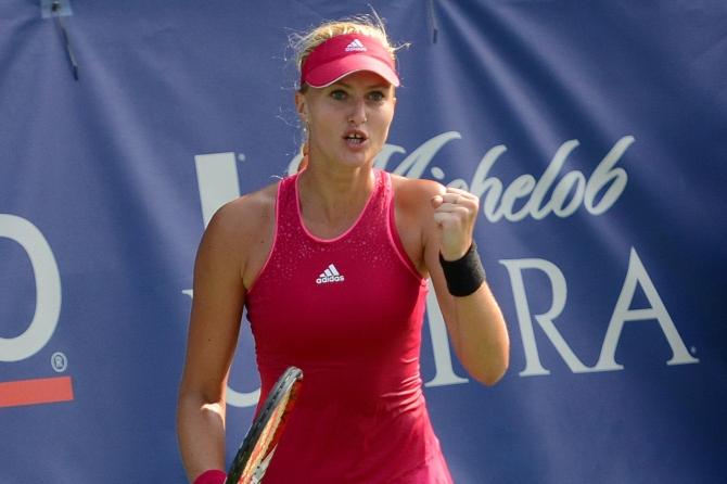 Kiki Mladenovic (Photo: Christopher Levy for TennisEastCoast.com)
