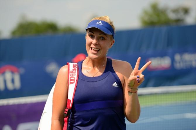 Anastasia Pavlyuchenkova (Photo: Chris Levy @Tennis_Shots for TennisEastCoast.com)