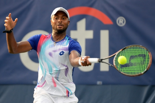 Donald Young (Photo: Chris Levy @Tennis_Shots for TennisEastCoast.com)