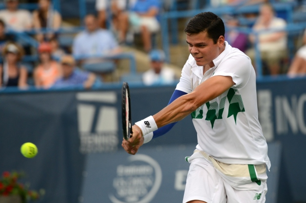 Milos Raonic (Photo: Chris Levy @Tennis_Shots for TennisEastCoast.com)