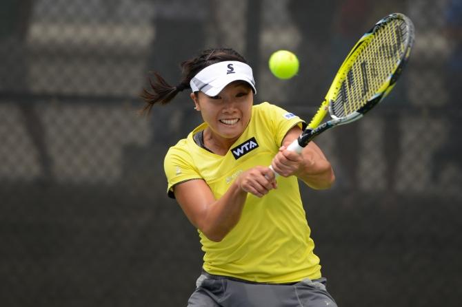 Kurumi Nara (Photo: Chris Levy @Tennis_Shots for TennisEastCoast.com)