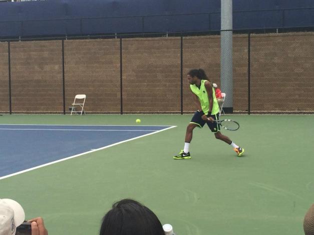 Dustin Brown Winston Salem Open 2014