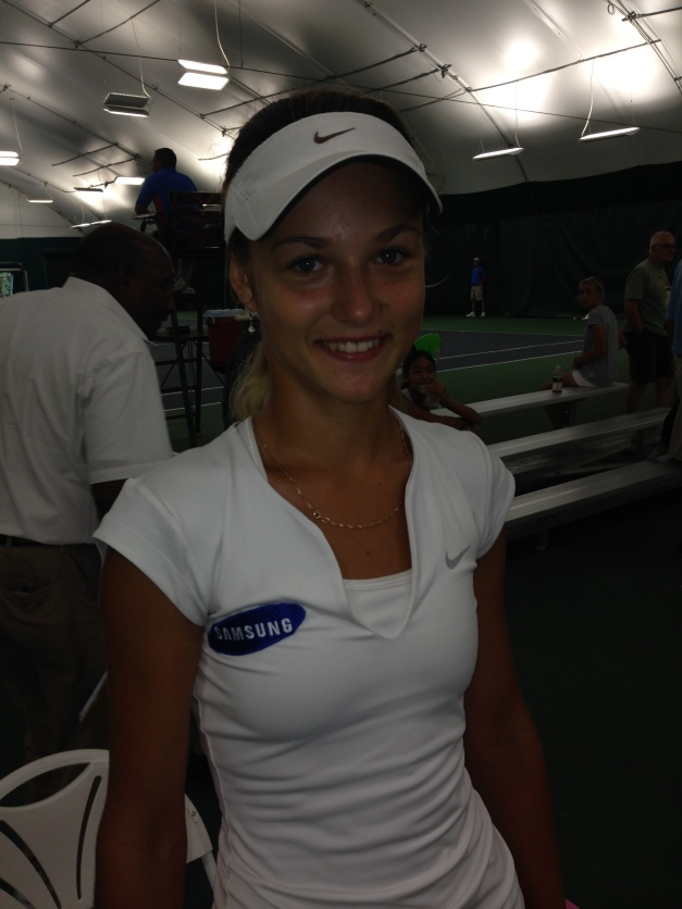 Anna Kalinskaya (C) TennisEastCoast.com