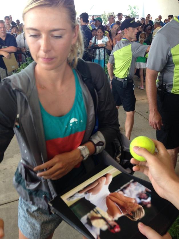 Maria Sharapova at 2014 Western & Southern