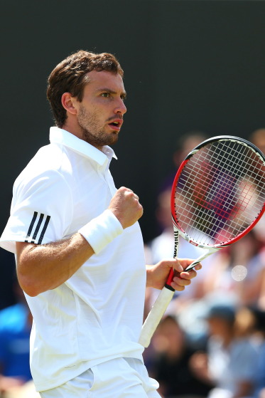 Ernests Gulbis grass season