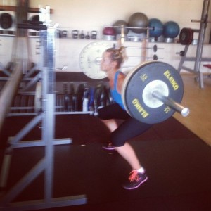Conny working hard to prepare for the 2015 Season