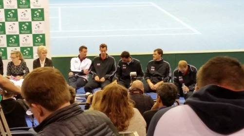 Team GB, Murray brothers, Ward and Inglot