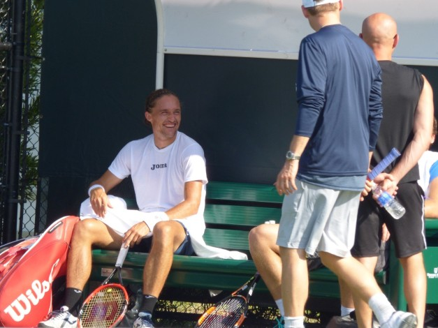 Dolgo was chill in practice (Photo Credit Esam Taha)