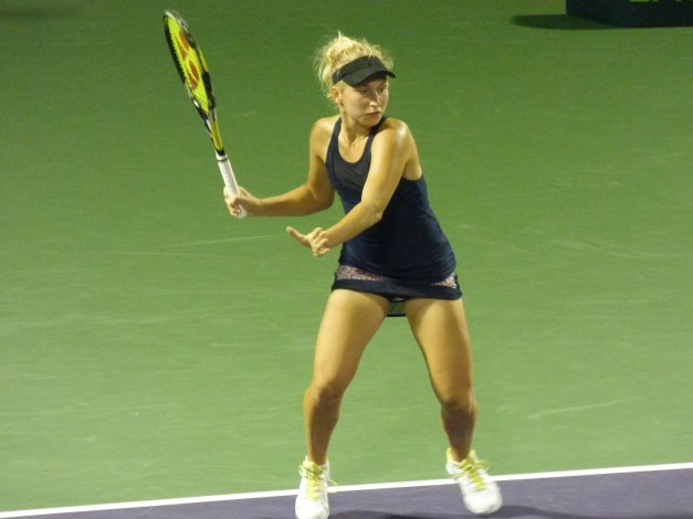 Daria Gavrilova forehand Miami Open 2015