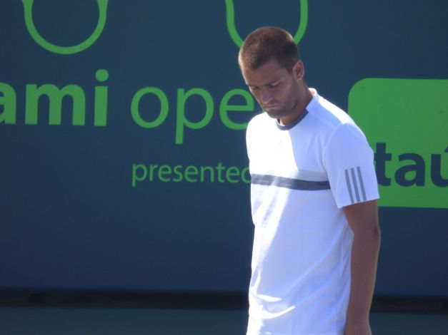 Youzhny's retirement looms (Photo Credit: Esam Taha)