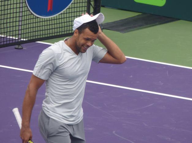 Tsonga whiff Miami Open 2015