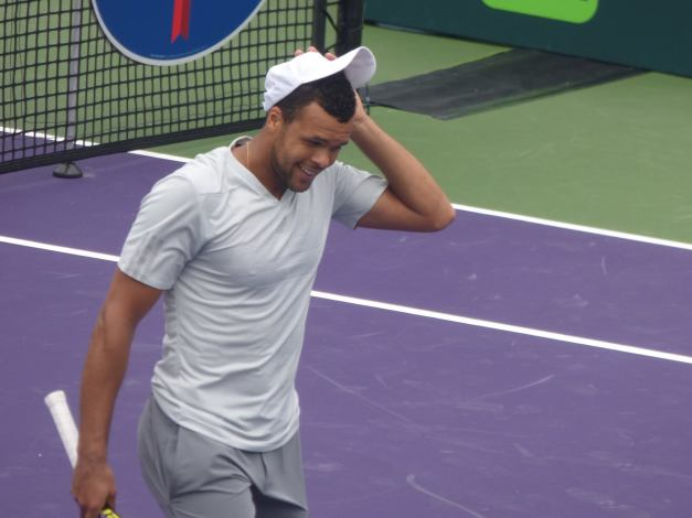 Tsonga whiff Miami Open 2015